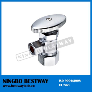 Oval Knurled Handle Compression Angle Valve (BW-A47)