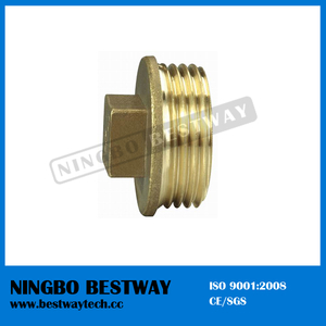 Brass Pipe Fitting Cap with Bottom Price (BW-634)