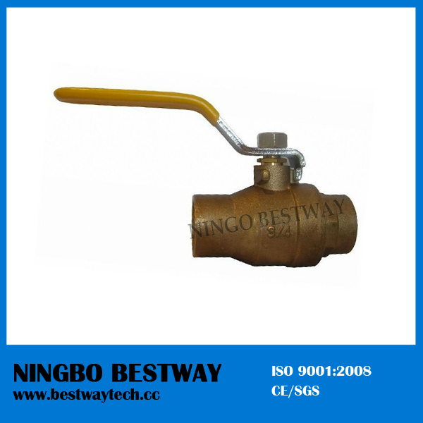 Brass Solder Ball Valves (BW-B75)