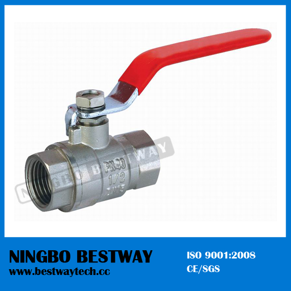 Forged Water Meter Brass Ball Valve Price (BW-B15)