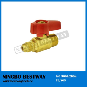 C37700 Brass Anlge LPG Gas Ball Valve (BW-USB07)