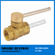Lockable Magnetic Brass Ball Valve