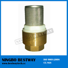 Brass Foot Valve with Filter