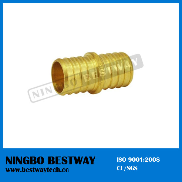 Lead Free Brass Pex Pipe Barbed Couplings Threaded Adapter