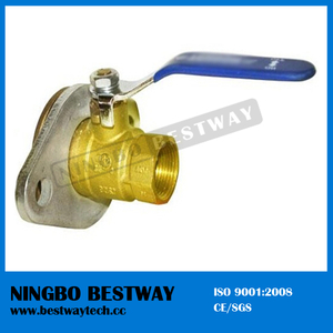 Best Sale Brass Rotary Flange Ball Valve Price (BW-B12R1)
