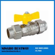 Brass Gas Shutoff Ball Valve Factory (BW-B143)
