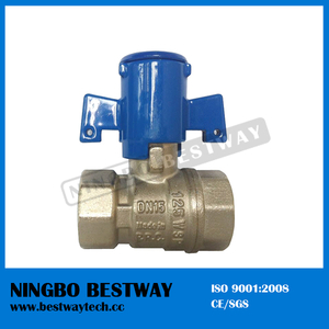 Plastic Lockable Water Meter Valve with High Quality (BW-L29)