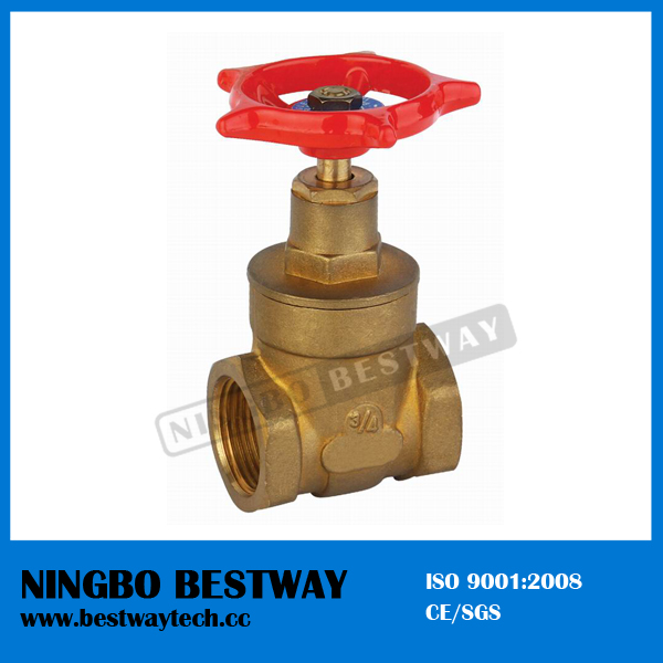 Forged Brass Gate Valve with Thread End (BW-G04)