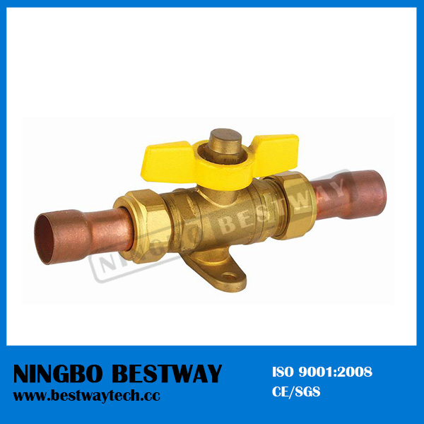 Kitchen Brass Gas Ball Valve with High Quality (BW-B135)