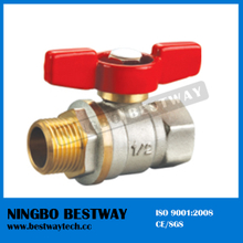 Hot Sale Brass Ball Valve 3PC Ball Valve (BW-B32)