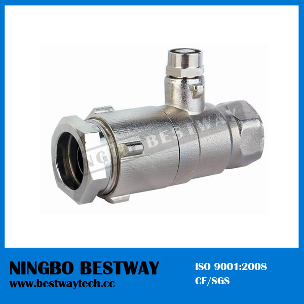 Brass Lockable Ball Valve (BW-L09)