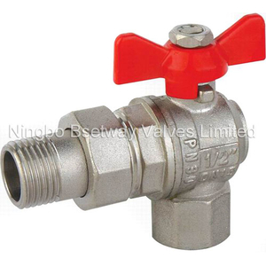 Butterfly Handle Brass Angle Ball Valve (BW-B46)