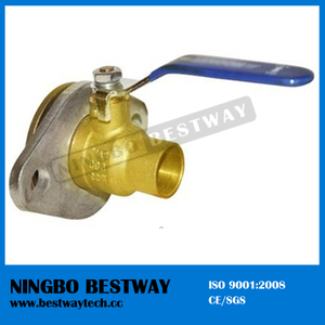 Best Sale Brass Rotary Flange Ball Valve Price (BW-B12R2)