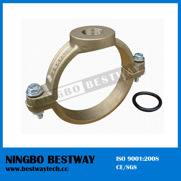 Bronze Saddle Clamp for PE Pipe (BW-F05)