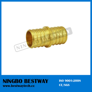 Lead Free Brass Pex Barbed Coupling Splice Crimp Fittings