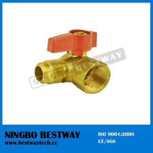 Female Brass Gas Ball Valve CSA Approved Standard Port (BW-USB09)