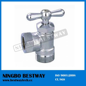 Chromed Brass Male Washing Machine Angle Valve (BW-A42)