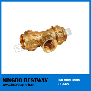 Ningbo Bestway Brass Female Tee Brass Compression Fitting (BW-307)