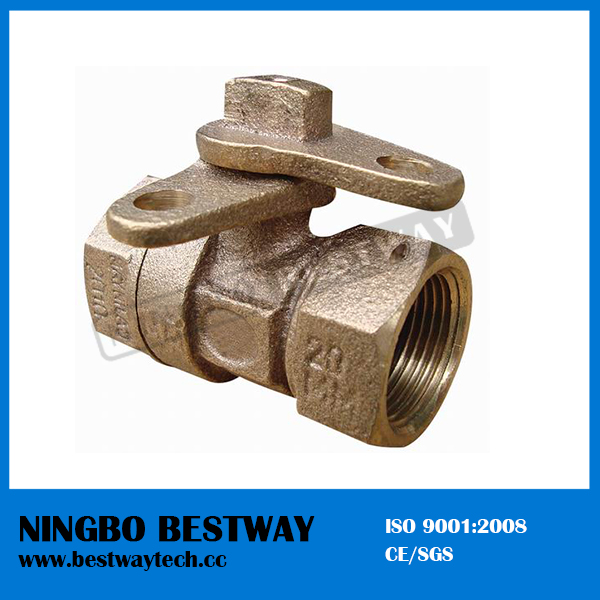 China Bronze Locking Ball Valve Fast Supplier (BW-L12)