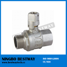 Brass Lockable Ball Valve with Square Handle (BW-L15)