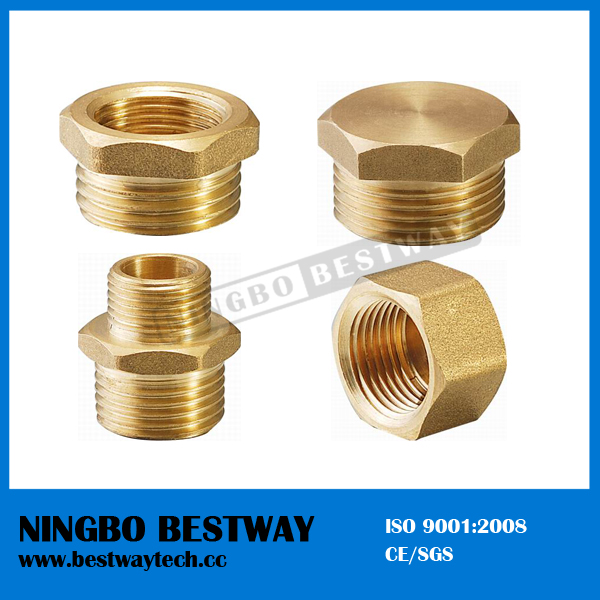 Male Thread Bronze Pipe Fitting Direct Factory (BW-660)