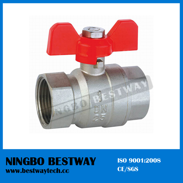 T Handle Brass Ball Valve (BW-B17)
