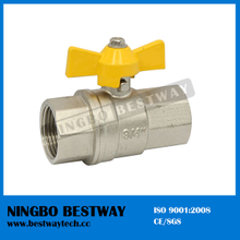 Brass Gas Stove Valve with Butterfly Handle (BW-B137)