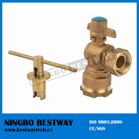 Brass Ball Valve with Lock for Water Meter (BW-L02)
