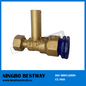 Hot Sale Brass Water Meter Ball Valve Price (BW-L33)