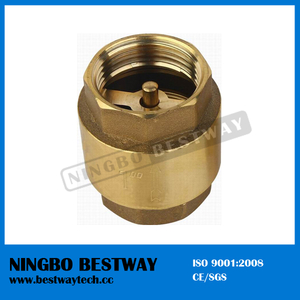 Top Brass Spring Loaded Check Valve (BW-C02)