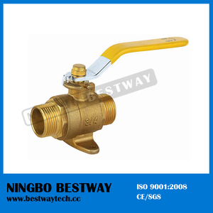 Lever Handle Brass Gas Ball Valve (BW-B132)
