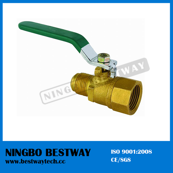 Female and Male Brass Ball Valve