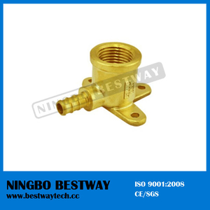 Forged Brass Pex Female Wallplate Elbow China Manufacturer