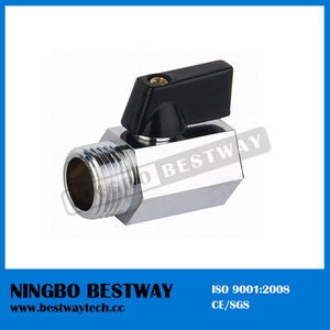 Chrome Plated Mini Brass Ball Valve (BW-B101)