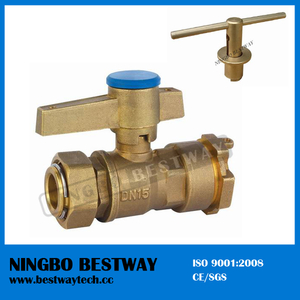 Brass Straight Lockable Ball Valve (BW-L01)